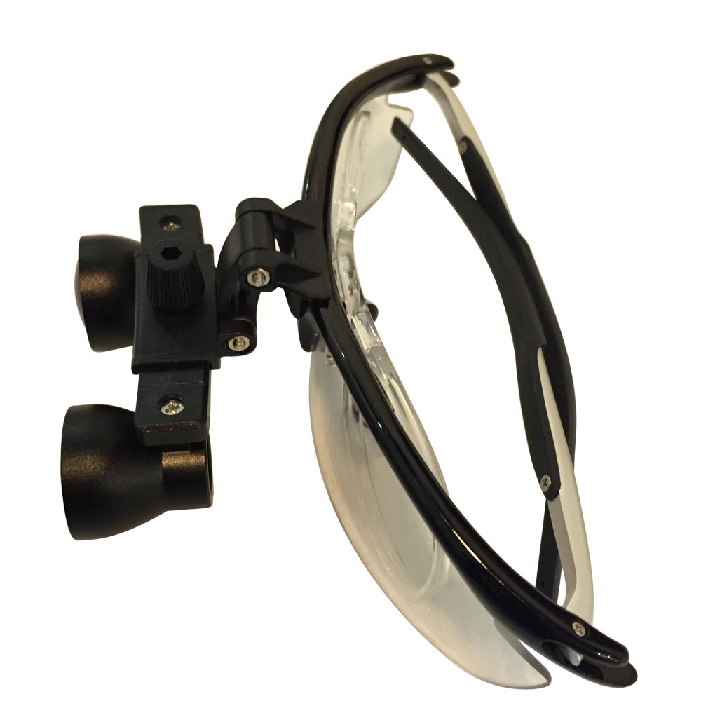 New aluminium loupes with long working distance